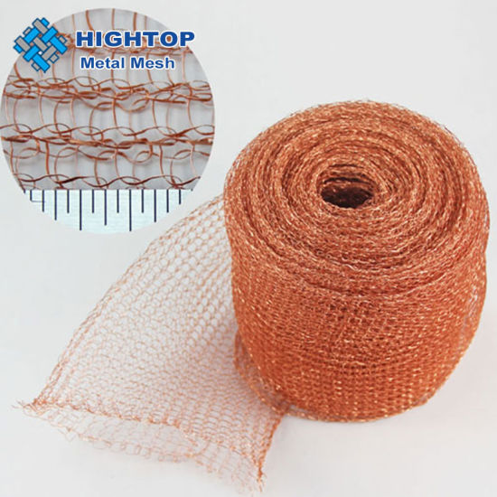 Abrasion Resistance Copper Knitted Wire Mesh Filters