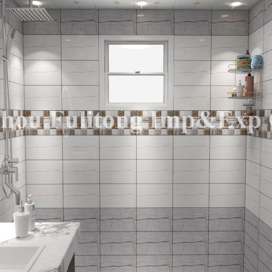 China Ceramic Bathroom Wall Tiles Floor, Is Ceramic Or Porcelain Tile Better For Bathroom Walls