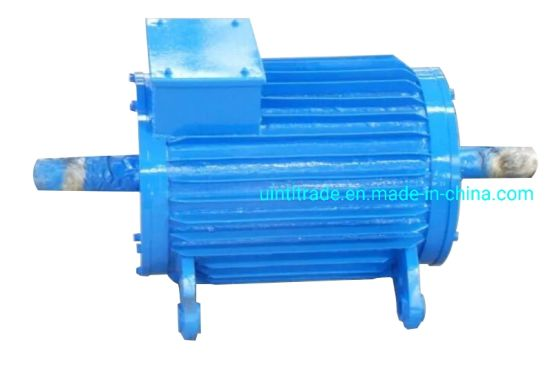 5kw 500rpm Customized Double Shaft Synchronous Permanent Magnet Generator Pmg