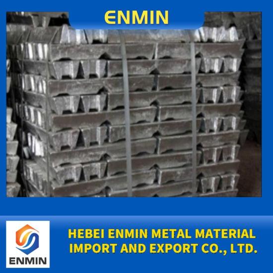 Zinc Alloy Ingot Factory Direct Supply Zamak 2 3 5/Zinc Ingot, High Purity