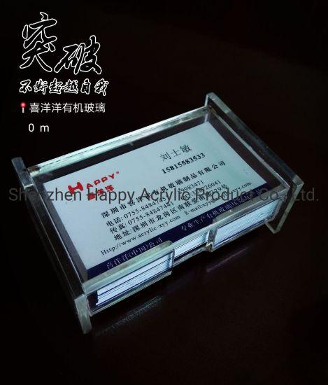Business Card Case Acrylic Card Case