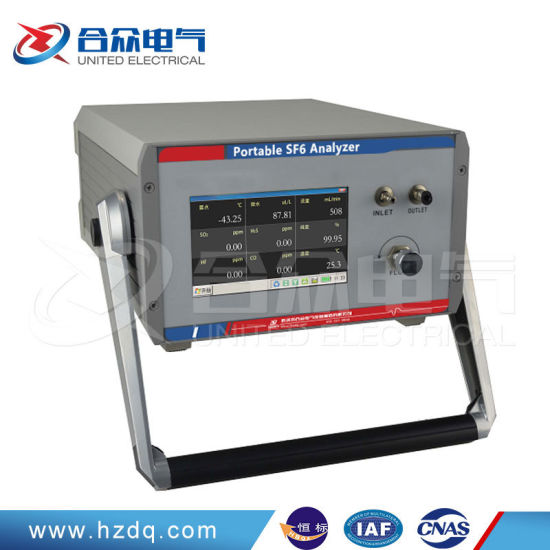 Sf6 Gas Analysis Instrument for Determining Sf6-Related Electrical Equipment