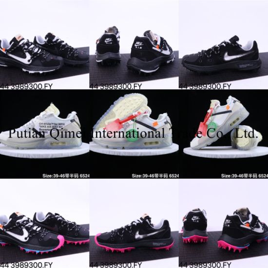 off White Zoom Terra Kiger 5 Air-Max 90 Putian Shoes