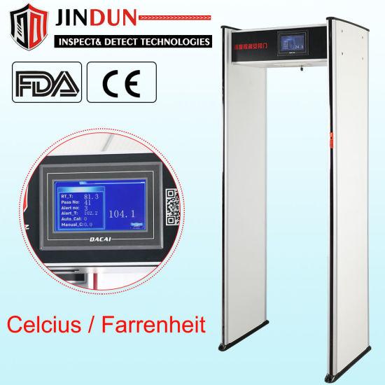 Walk Through Infrared Temperature Scanner Security Checking