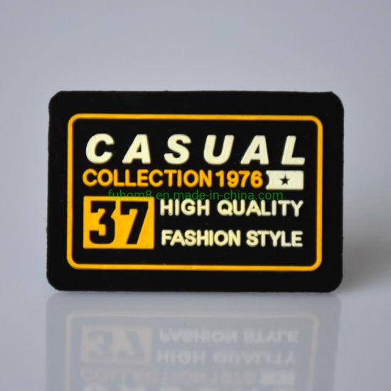 Eco-Friendly Plastisol Rubber Print Clothing Felt Label