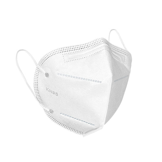 Hot Selling Kn95 Breathable White Non-Woven Face Mask 4 Ply Earloop Face Mask
