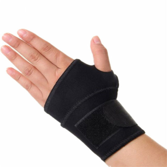 Professional Comfortable Breathable Black Wrist Support for Gym