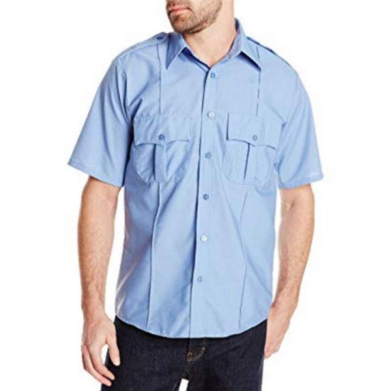 Wholesale Custom Security Guard Uniform Shirt for Men