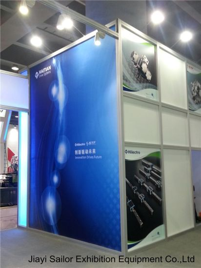 Exhibition Booth Graphics : China exhibition fabric stand system aluminium board producer