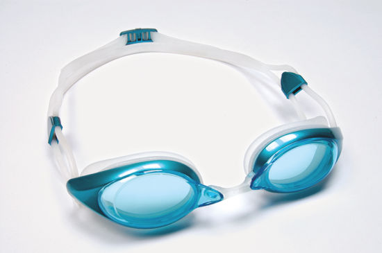Hot Sell Metallic Painting Frame Anti-Fog Swimming Goggles pictures & photos