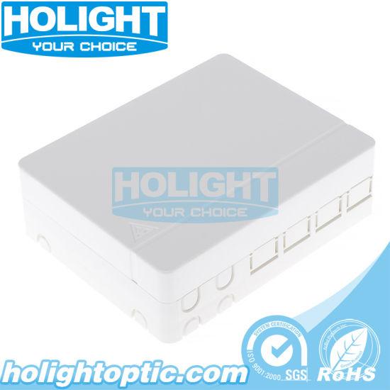 Wall Plate Fiber Optic Network Faceplate