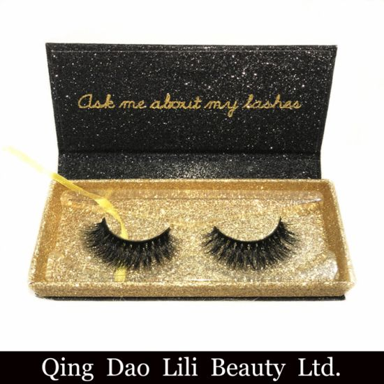45421596512 Best Selling 3D Mink Eyelashes Products 2018 in USA Accept Glitter Custom  Eyelash Packaging Box pictures