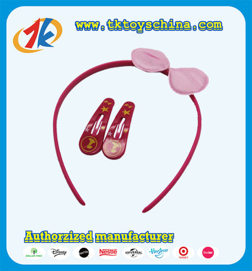 Fashionable Girl Gifts Hair Band with Hairpin Toy for Kids