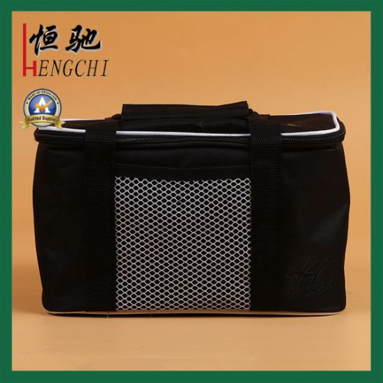 Promotional Flexible Picnic Insulated Lunch Bottle Cooler Bag