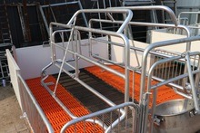 High Quality Farrowing Crate Animal Cages Pens for Pig Farming Equipment