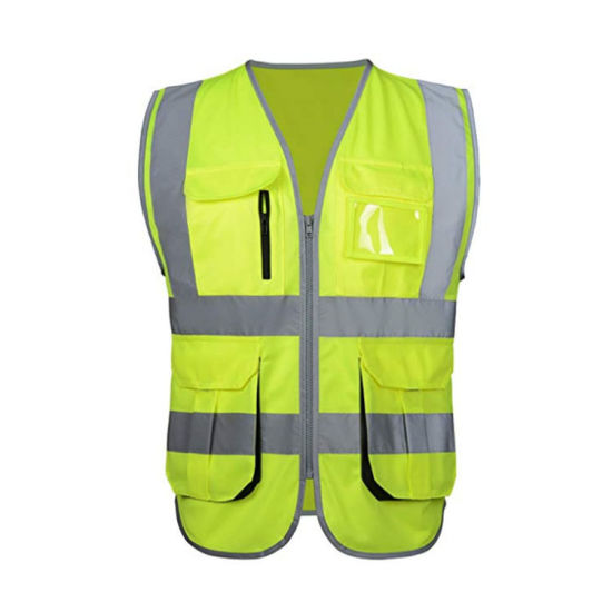 Factory Visible Road Traffic Worker Protective Reflective Vest
