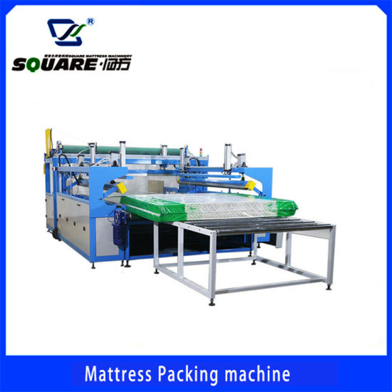 Automatic Mattress Film Packaging and Packing Machine