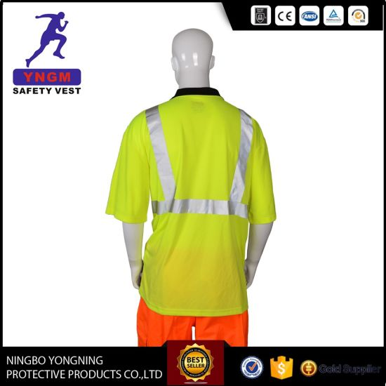 High Quality Safety Shirt Clothes with Reflective Tape En20471 pictures & photos