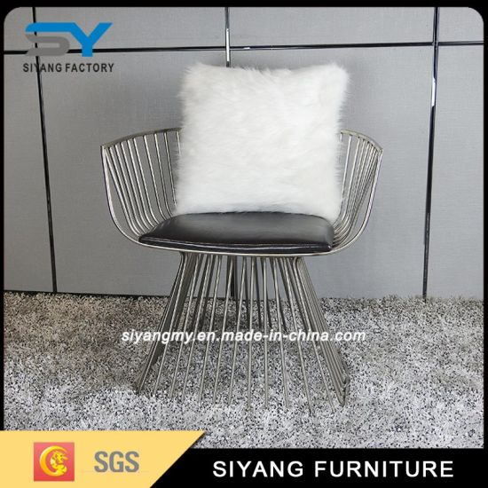 High Quality Living Room Furniture Office Metal Lounge Chair