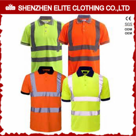 China Custom Design Wholesale Cheap Workwear Safety Polo Shirt