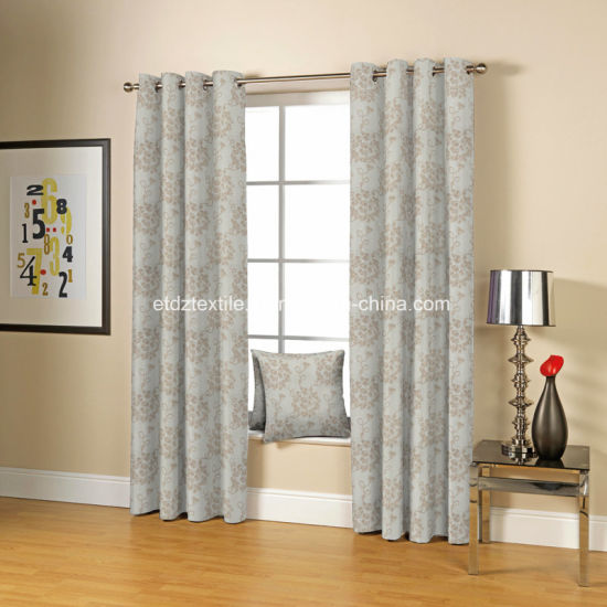 2016 Polyester Chenille Fancy Yarn Dyed Window Curtain Fabric pictures & photos