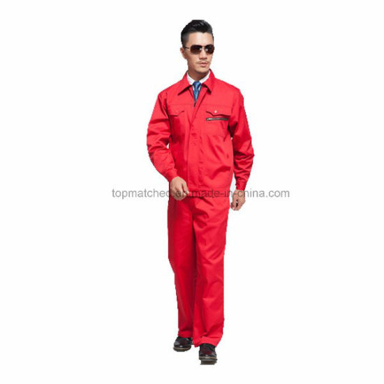 Bleach Resistant Anti-Static Flame-Retardant Factory Welder Work Uniforms pictures & photos