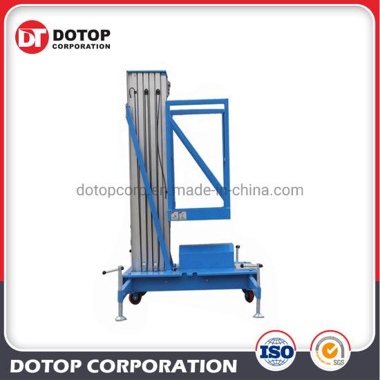 China Portable Mobile Single Aluminum Alloy Column Lift