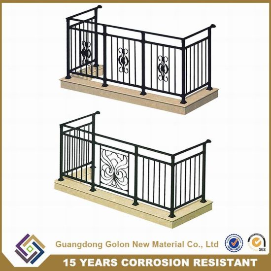 Oemodm Welcomed European Designs Wrought Iron Balcony Railings