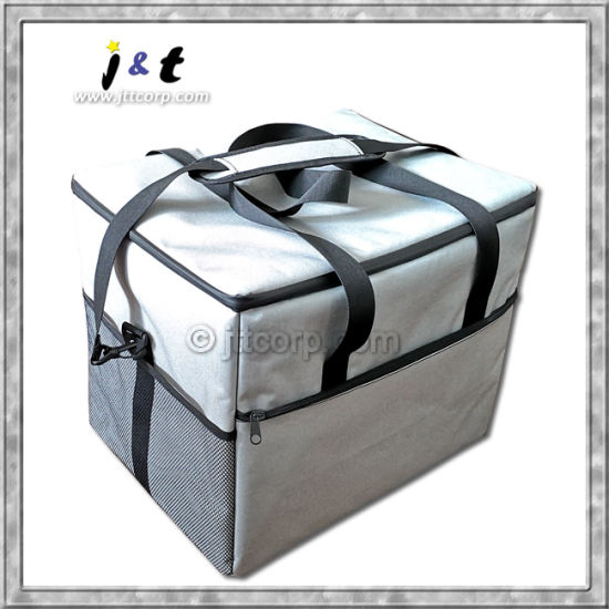Wholesale Chinese Manufacturer Promotional Thermal Insulated Food Meal Cooler Organizer Shoulder Bag