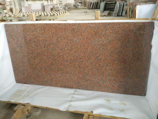 Maple Red Granite Kitchen Island Tops Countertops