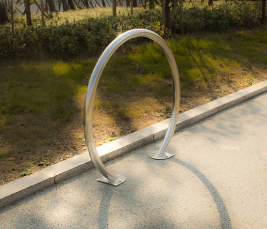 OEM Provided Stainless Steel Bike Parking Stand pictures & photos