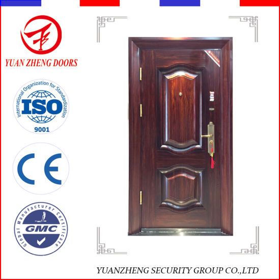 China Indian House Main Gate Designs Decorative Steel Security Doors