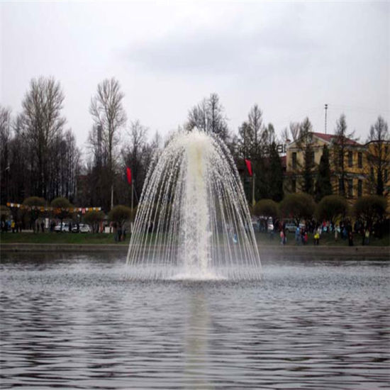 Lake Decoration Stainless Steel Floating Fountain pictures & photos