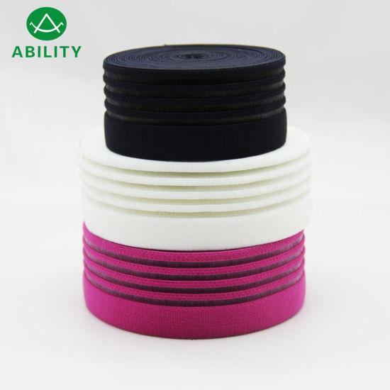 42mm Silicone Jacquard Nylon Waistband Elastic Webbing for Garments