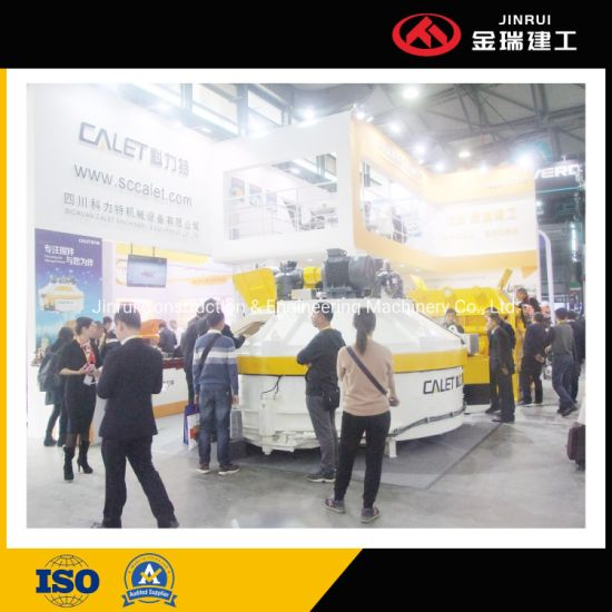 Jinrui Mobile Fiber Cement Board Panel Concrete Batching Plant Construction Equipment 2hzs90
