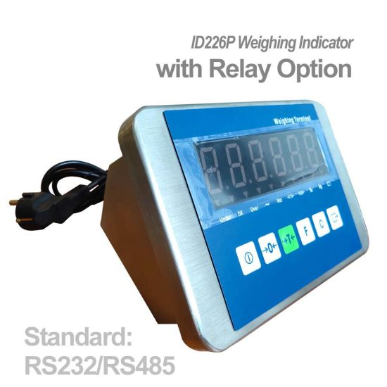Stainless Steel Housing Weight Indicator with Relay Output for Industrial Weighing