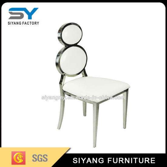 Restaurant Furniture Color Change Leather Wedding Chair