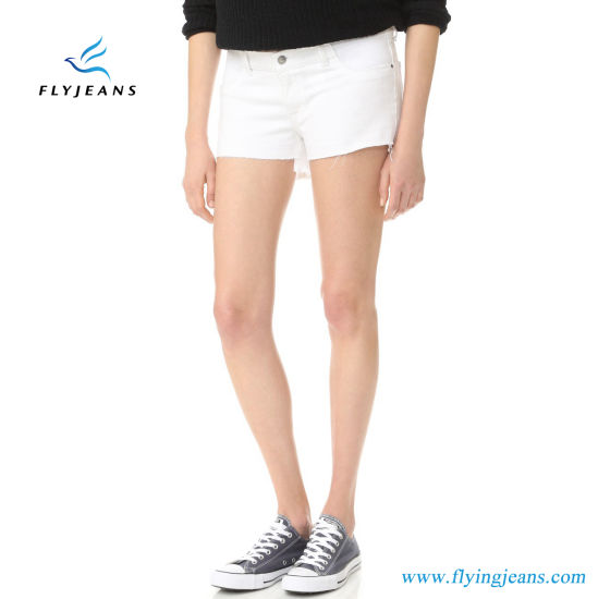 e7167582b6fa2 China Popular Elegant Women Maternity Denim Jeans Shorts by Fly ...