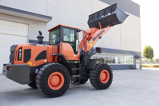 Ensign Construction Machinery 4.0 T Wheel Loader (excavator partner) with Ce, Rops&Fops Cabin pictures & photos