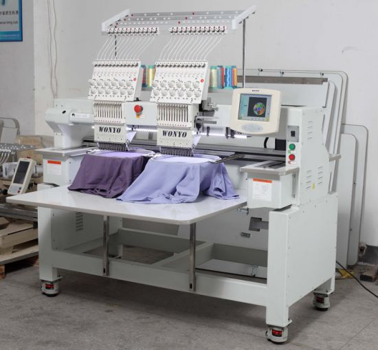 2 Heads Best Computer Controlled Embroidery Machine Price pictures & photos