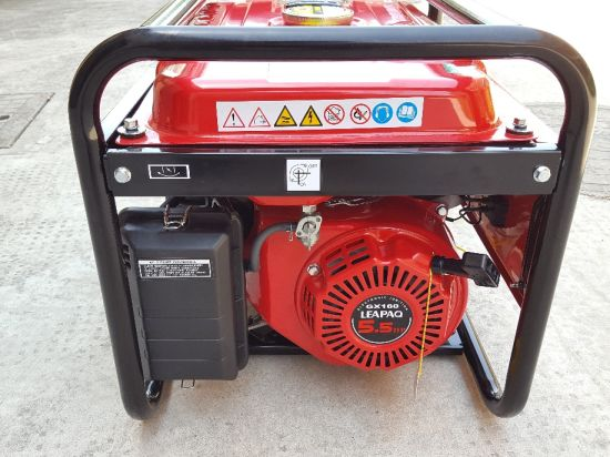 2017 New Design 2.0 Kw Recoil Electric Portable Gasoline Generator pictures & photos