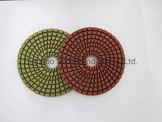 Durable Diamond Wet Polishing Pads for Granite and Marble