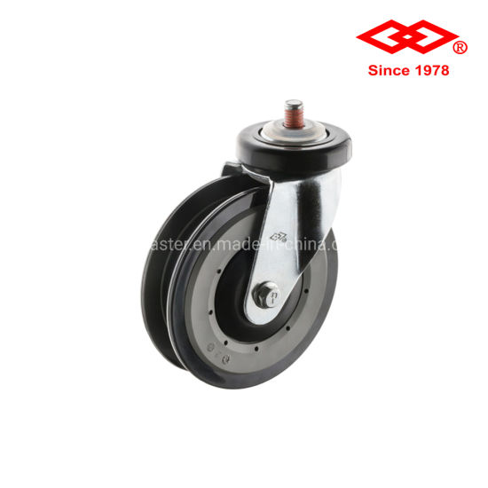 4 Inch Bolt Hole Trolley Castor