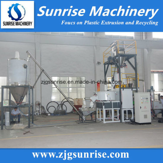 High Speed Mixer for PVC Powder Mixing with Vacuum Feeding System pictures & photos