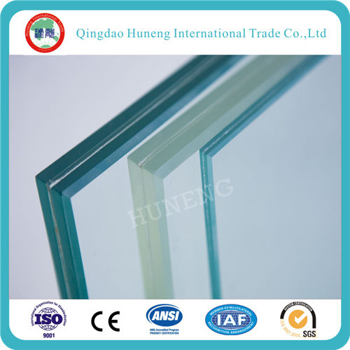 4.38mm-52mm Clear/Grey/Bronze Laminated Glass with High Quality pictures & photos