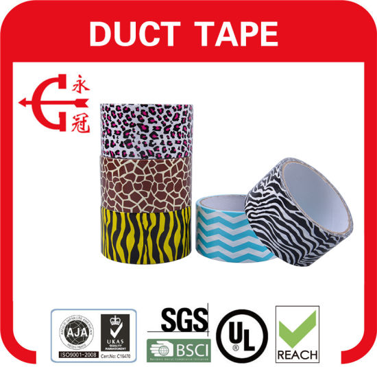 Heavy Duty Packaging Printed Cloth Duct Tape pictures & photos