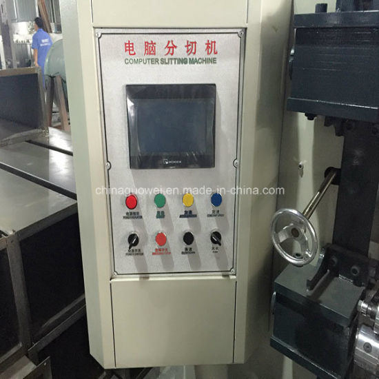 Automatic PLC Control Slitter and Rewinder for PVC with 200 M/Min pictures & photos