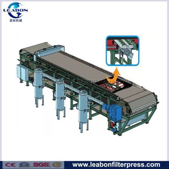 Automatic Belt Vacuum Filter for Coal Washing