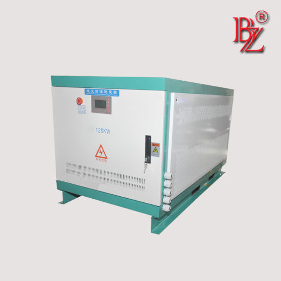 High Voltage 480-800V DC Input to Dual Voltage Output Bzp-120kw PV Power Inverter for Ship/Car/Train System