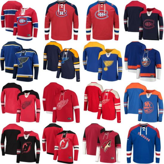 Canadiens Blues Red Wing Coyotes Rangers Hat-Less Uncapped Pullovers Hoodies